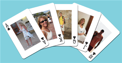 Personalized Photo Playing Card Decks