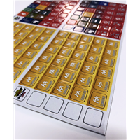"5/8"" Square Game Counters with Rounded Corners"