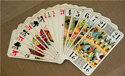 Traditional Tarot Size Custom Card Decks